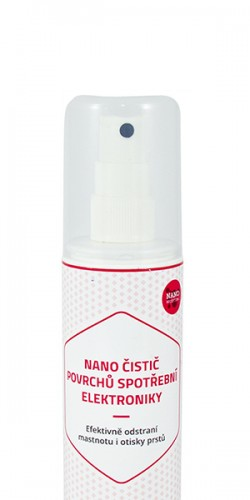 Nanocleaner for Consumer Electronic Surfaces
